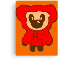 Keinage - Lil Bear (Hoody) Canvas Print