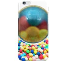 Candies with a glass ball iPhone Case/Skin