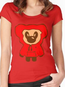Keinage - Lil Bear (Hoody) Women's Fitted Scoop T-Shirt