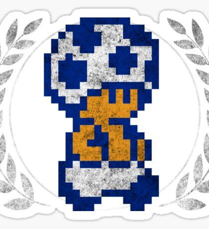 Toad - Sprite Badge Sticker