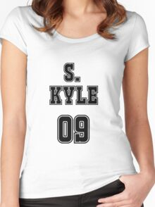Selina Kyle Jersey Women's Fitted Scoop T-Shirt