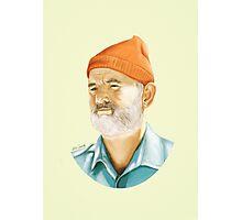 Bill Murray (Steve Zissou) Digital Painting  Photographic Print