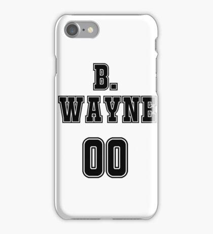 Bruce Wayne Jersey iPhone Case/Skin