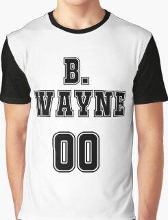 Bruce Wayne Jersey Graphic T-Shirt