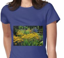 Summer Garden  Womens Fitted T-Shirt