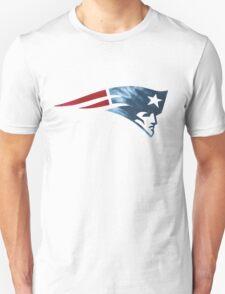 New England Patriots Football Logo Sticker Unisex T-Shirt