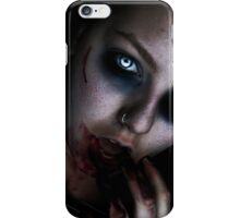 Dead girl iPhone Case/Skin