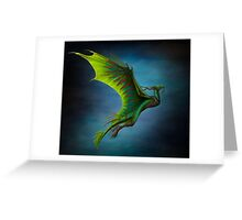 Nature Dragon  Greeting Card
