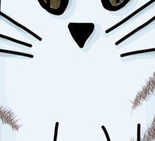Blue Kitten Sticker