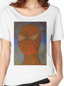 Spiderman portrait Women's Relaxed Fit T-Shirt