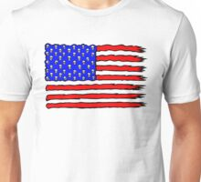 Vagabond The Artist - American Flag Original Design Unisex T-Shirt