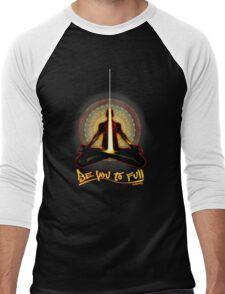 meditator - beyoutofull Men's Baseball ¾ T-Shirt