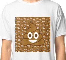 Poop Emoji Classic T-Shirt