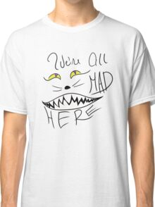 Alice in Wonderland Cheshire Cat Classic T-Shirt
