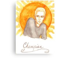 Champion Canvas Print