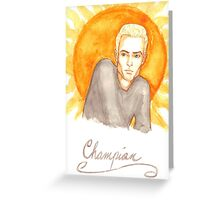 Champion Greeting Card