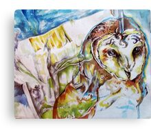 Hoo-hoo Canvas Print