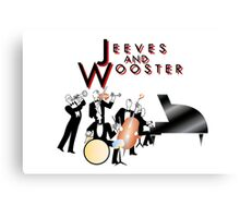 Jeeves and Wooster Canvas Print