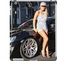 scion fr-s and sexy girl iPad Case/Skin