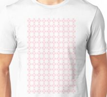 Heart Flowers Rose and Serenity Unisex T-Shirt