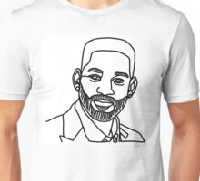 Will Smith One Line Unisex T-Shirt