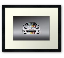 toyota gt86 speedhunters Framed Print