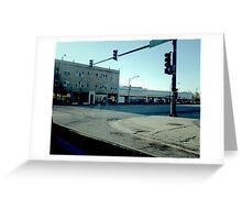 Street Corner (1) Greeting Card