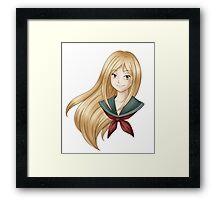 Reiko Bust Framed Print