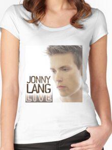 JONNY LANG LIVE CONCERT Women's Fitted Scoop T-Shirt