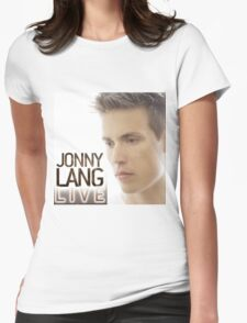 JONNY LANG LIVE CONCERT Womens Fitted T-Shirt
