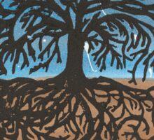 Tree Print #1 Sticker