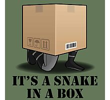 Its a Snake in a box Photographic Print