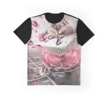 Pink butterfly explosion Graphic T-Shirt