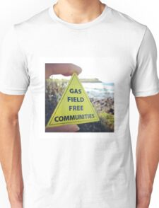 Gasfield Free CommUNITY Unisex T-Shirt