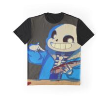Undertale - Sans - Hotdog Graphic T-Shirt