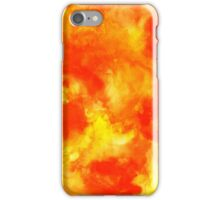 Abstract hand drawn painted watercolor background. iPhone Case/Skin