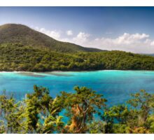 Hawknest Bay Panorama, St John, US Virgin Islands Sticker