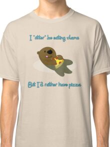 Pizza Otter Classic T-Shirt