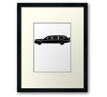Hearse Framed Print