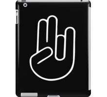The SHOCKER inappropriate offensive dirty gag gift funny college humor iPad Case/Skin