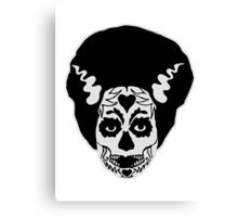 Day of The Dead Bride Canvas Print