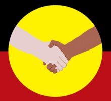 Reconciliation - Aboriginal Flag Sticker