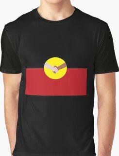 Reconciliation - Aboriginal Flag Graphic T-Shirt