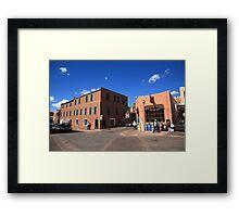 Santa Fe Streets Framed Print