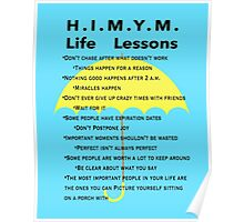 HIMYM Life Lessons Poster
