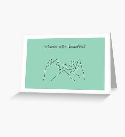 FWB? Greeting Card