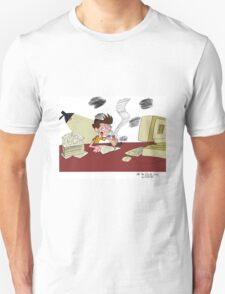 Spending All My Time Working on Animation Nonstop Unisex T-Shirt
