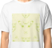 Heads of African animals. Classic T-Shirt