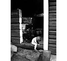 Sauna elf Photographic Print