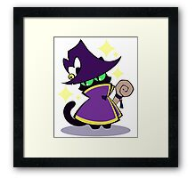 RPG Pets - Mage Cat Framed Print
